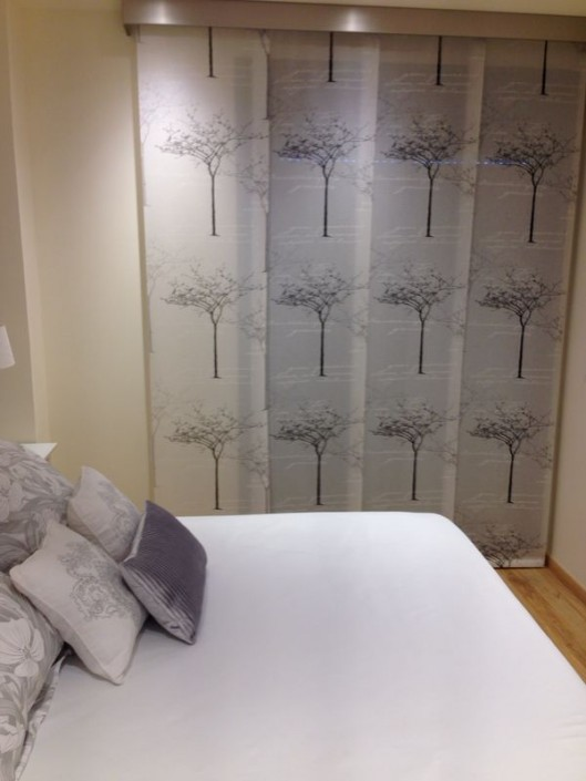 Printed Japanese Panels with stainless steel pelments Murcia