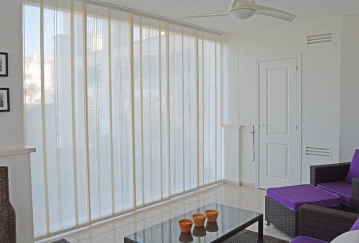 Japanese Panels for Glass Curtains Hacienda Riquelme Murcia