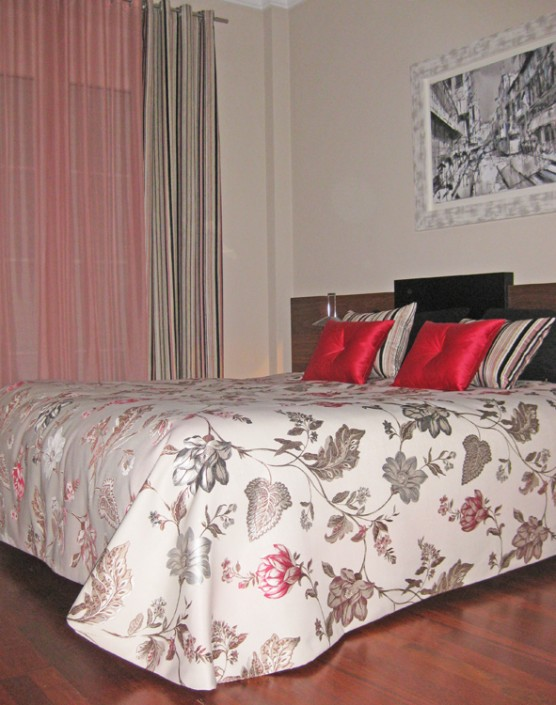matching curtains & bedlinen Cartagena, Murcia