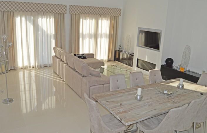 Upholstered pelmets Mar Menor Golf Resort, Murcia