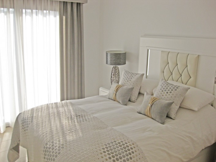 bedlinen, curtains, cushions, Mar Menor Golf