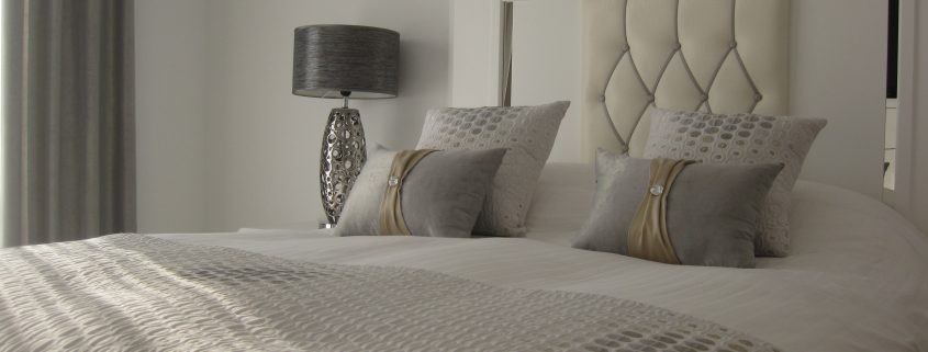 Coordinating bed linens
